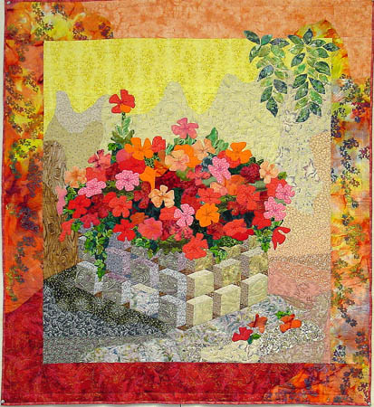 Impatiens is Not For Quilters